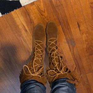 Lace -up boots